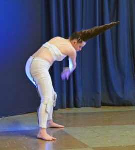 Lauren Payne performs Unicorn on 23 October 2017 at Vicarage Lane Community Centre